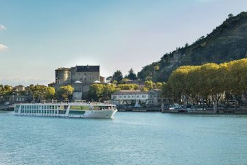 Enjoy a Rhone River cruise in Provence, France, aboard The Emerald Star Ship Liberte.