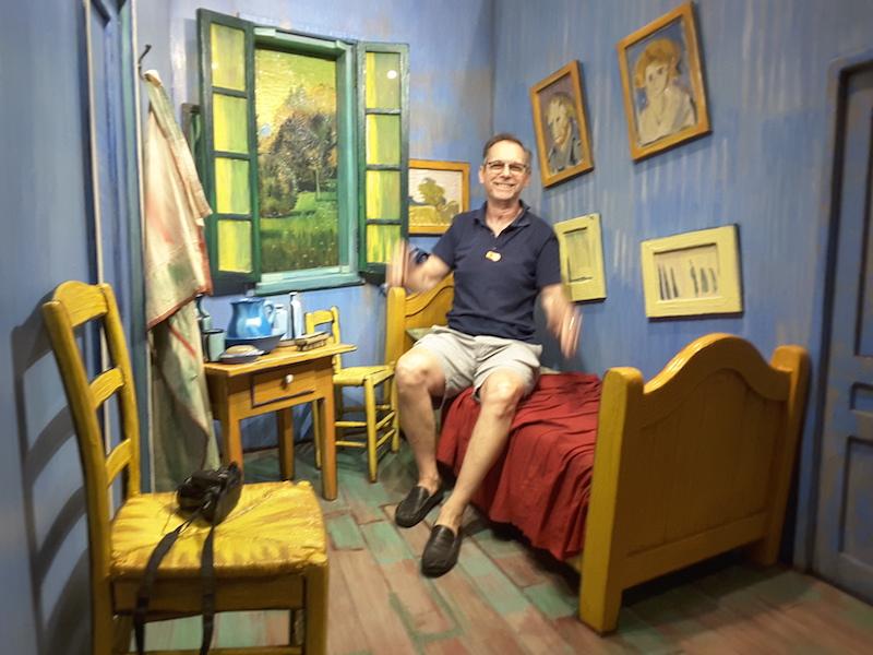 Houston weekend escape - Author/photographer Jim Twardowski awakes in a van Gogh painting