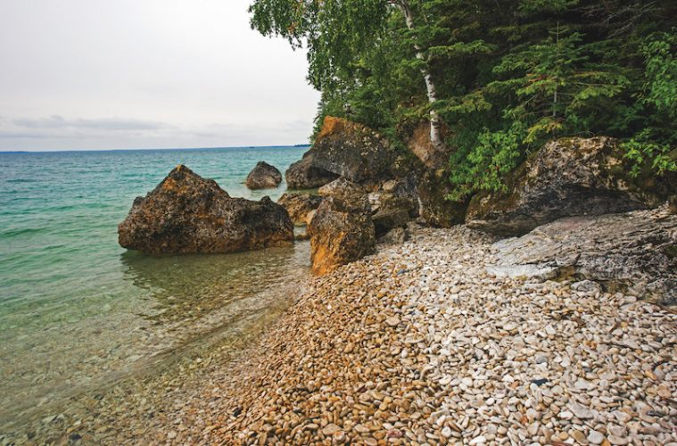 Natural Hot Spots in Manitoba and Saskatchewan -Clearwater Lake (Credit: Travel Manitoba)