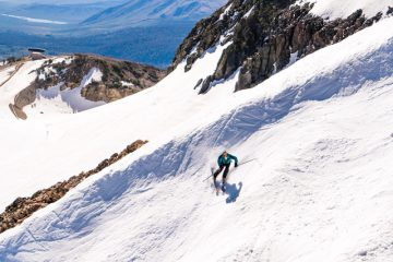 summer skiing mammoth mountain