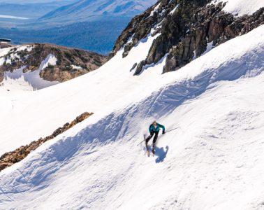 summer skiing mammoth mountain