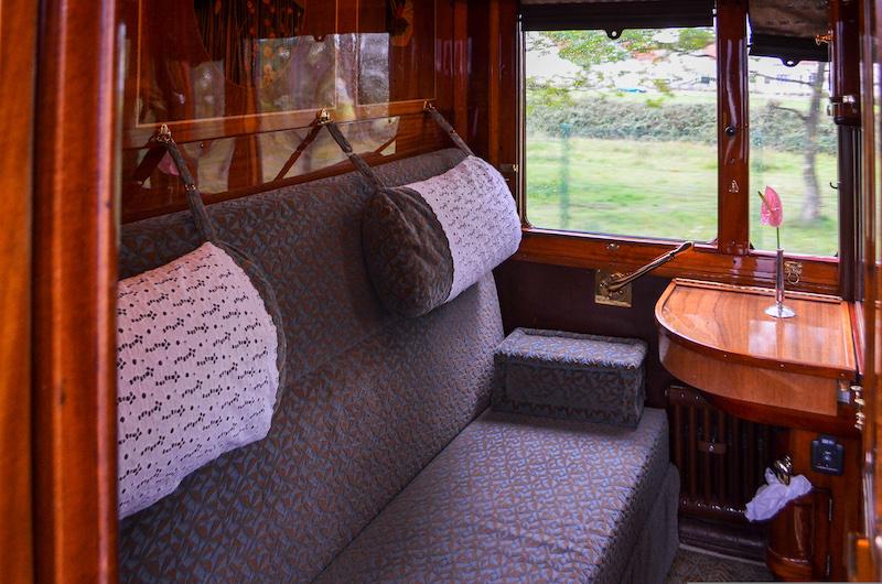 A first-class cabin