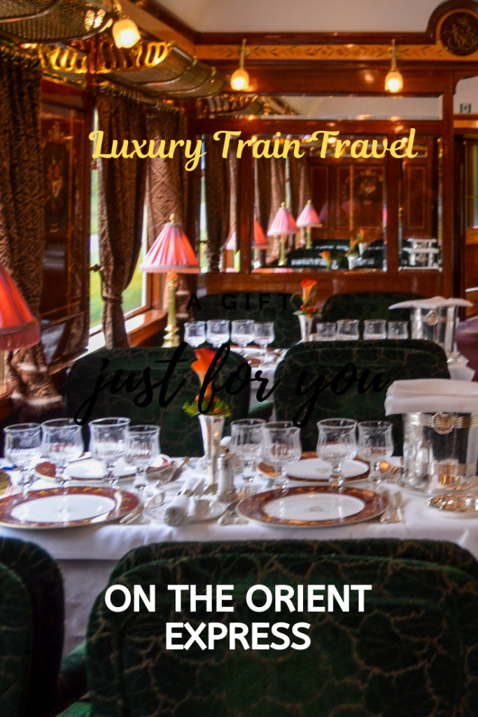 Luxury Train Travel on the Orient Express