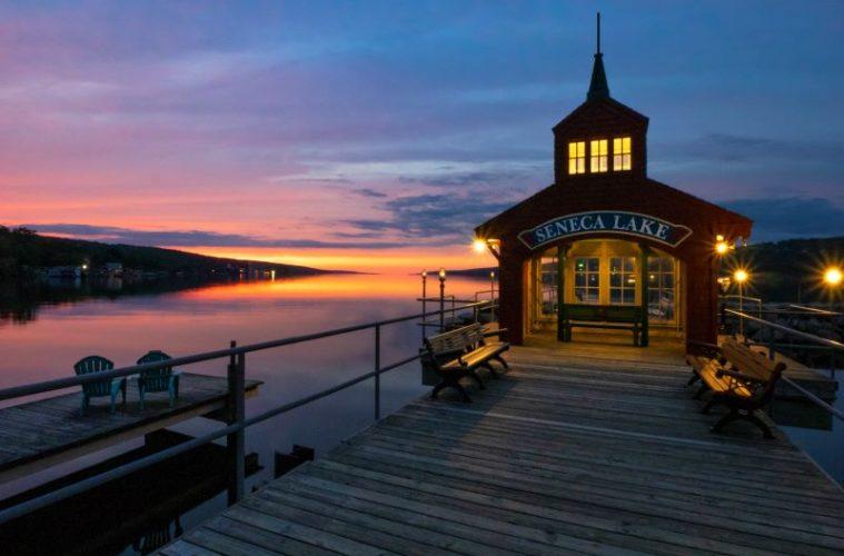 The Seneca Lake Boat House