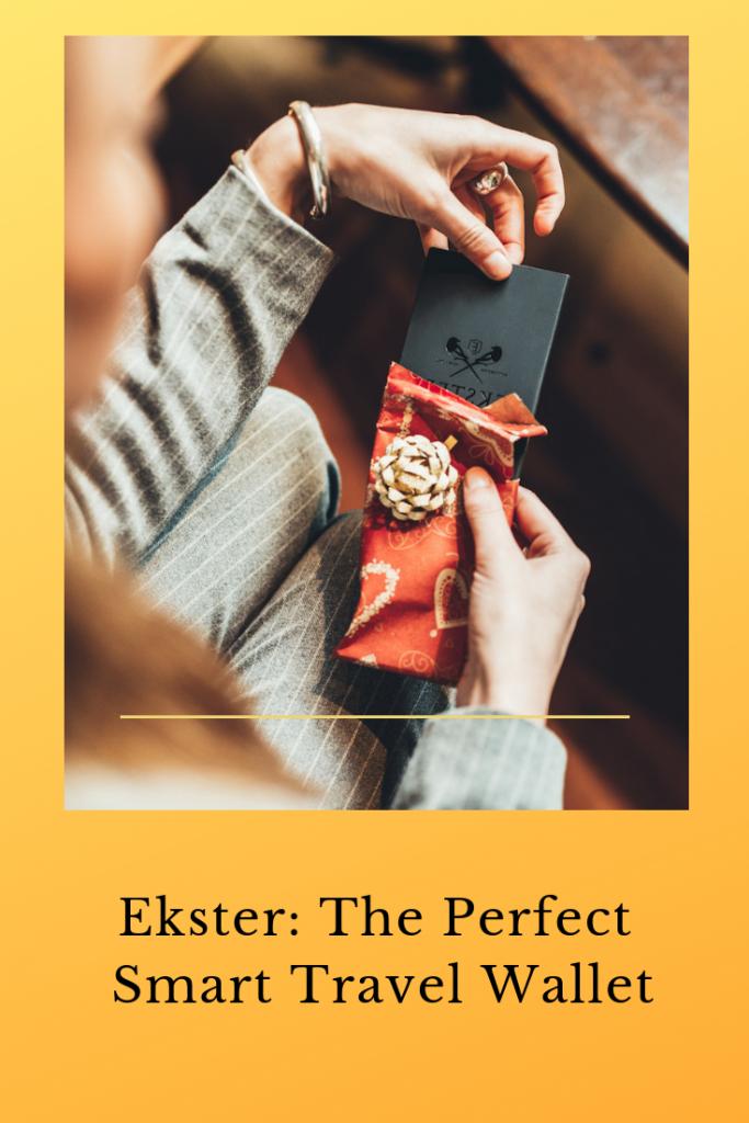 Ekster Smart Travel Wallet