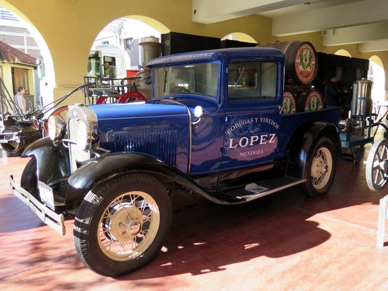 Bodegas Lopez Argentina winery history museum