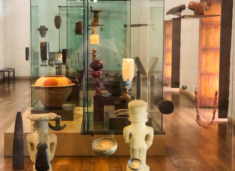 Interior of Casa del Alabado Museum ©Alison Abbott