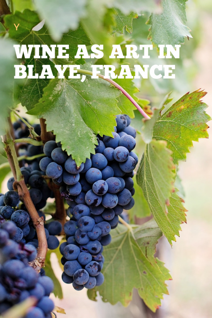 Wine As Art in Blaye France