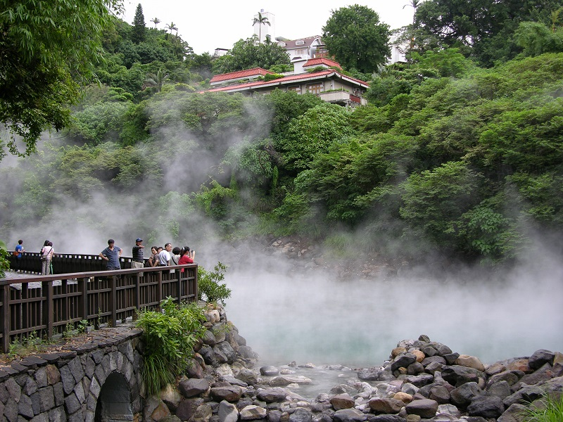 Hot springs draw visitors from near and afar