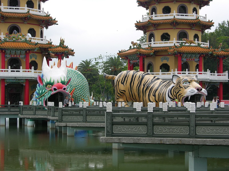 Most Taiwanese are religious; there are more than 10,000 temples on the island