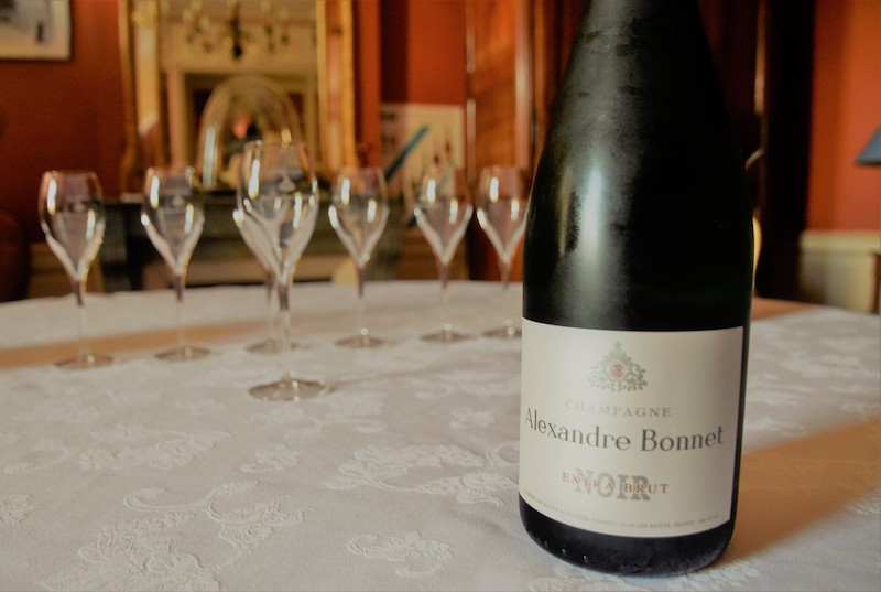 Private champagne tasting at Maison Alexandre Bonnet