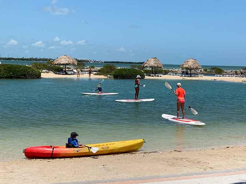 Saltwater Lagoon, Hawks Cay Resort