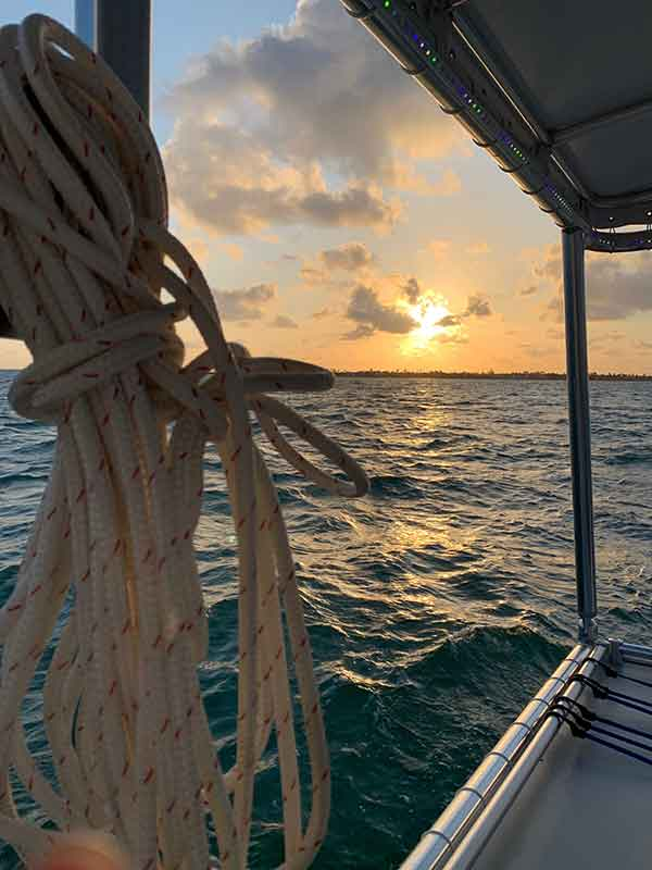 Sunset cruise with Solé Watersports