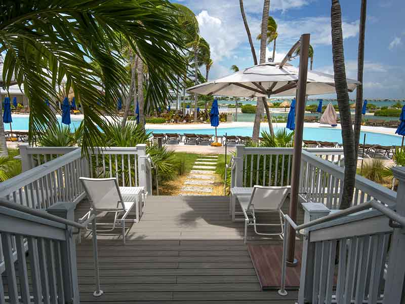 Oasis Cay Lanai Deck