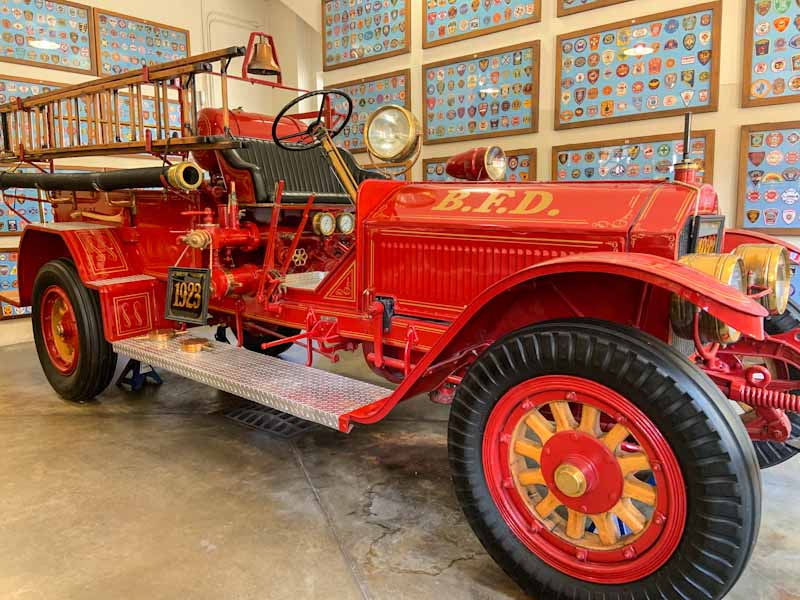 Beaumont A vintage 1923 fire truck inside The Fire Museum of Texas (photo credit Deb Burst)