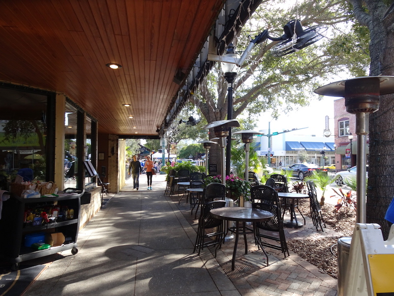 What To Do in Sarasota: Unique boutiques and bistros line downtown Sarasota streets