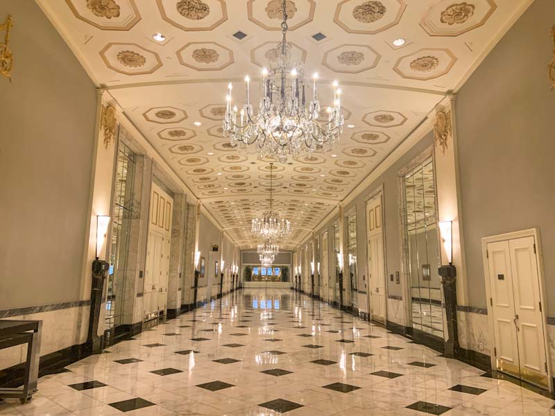 Dreamy DC: Mayflower corridor to storied conference rooms rooms
