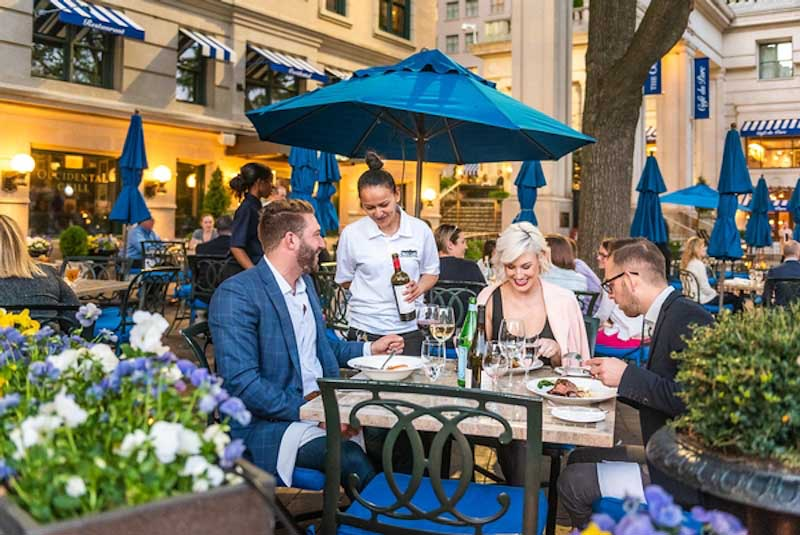 Dreamy DC: Occidental patio dining (Credit: The Occidental)