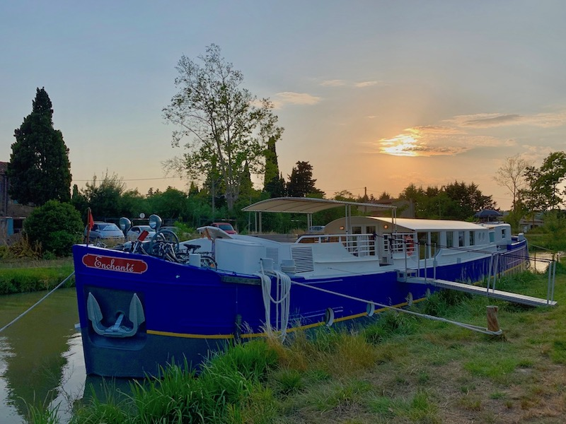 European Waterways Enchante at Sunset
