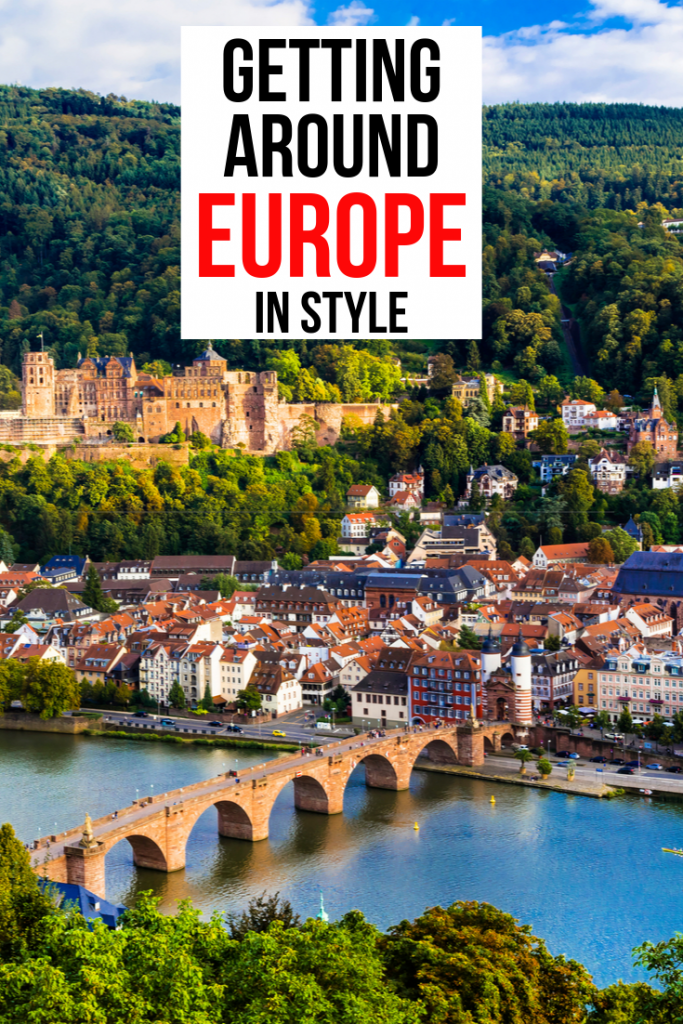 Getting around Europe in Style - pin