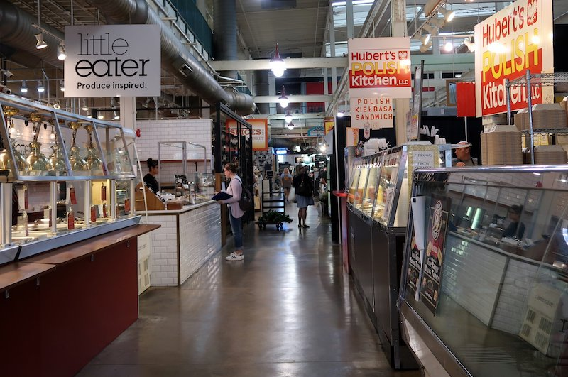 Columbus Food and Drink: North Market with its international food stalls