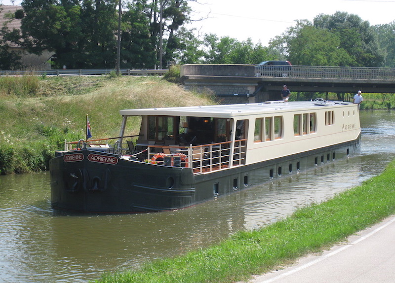 French Country Waterways barge, Adrienne