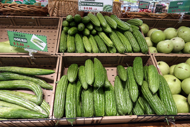 Columbus food and drink: Vegetables at Saraga Market