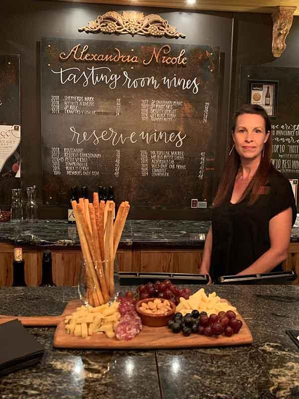 Alexandria Nicole Cellars tasting room