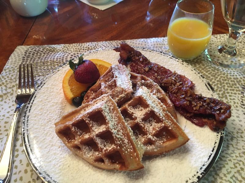 Breakfast at Engadine