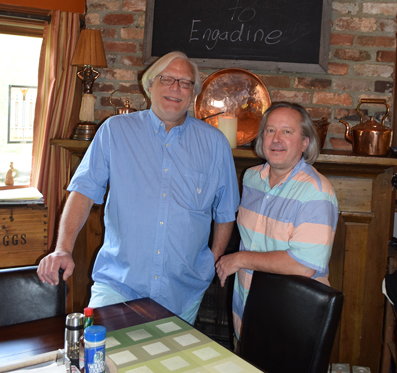 The Innkeepers at Engadine: Rick & Tom