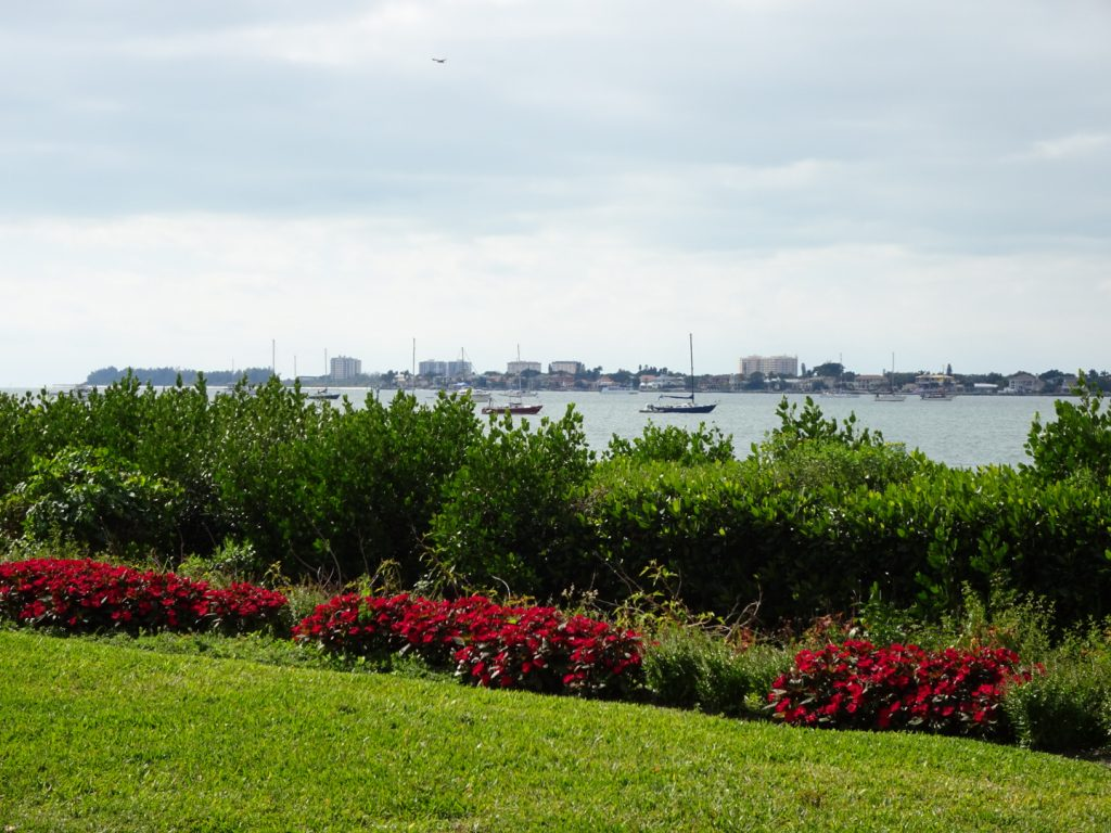 Sarasota Bay (as seen from the Marie Selby Botanical Gardens)