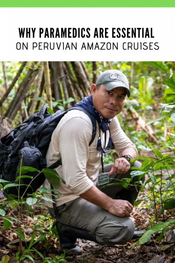 PARAMEDICS ON PERUVIAN AMAZON CRUISES PIN