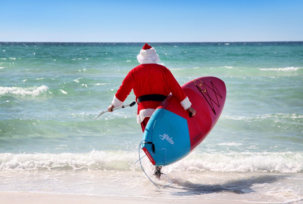 Christmas cocktails: Santa comes to town on 30A (Credit: Visit South Walton)