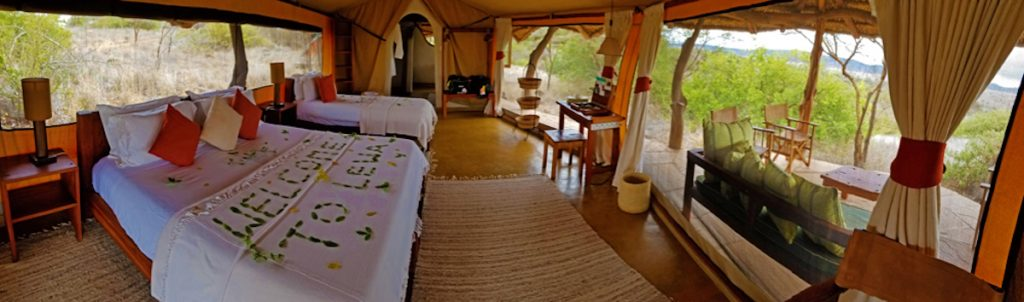 High-end glamping at Lewa on a Kenya luxury safari