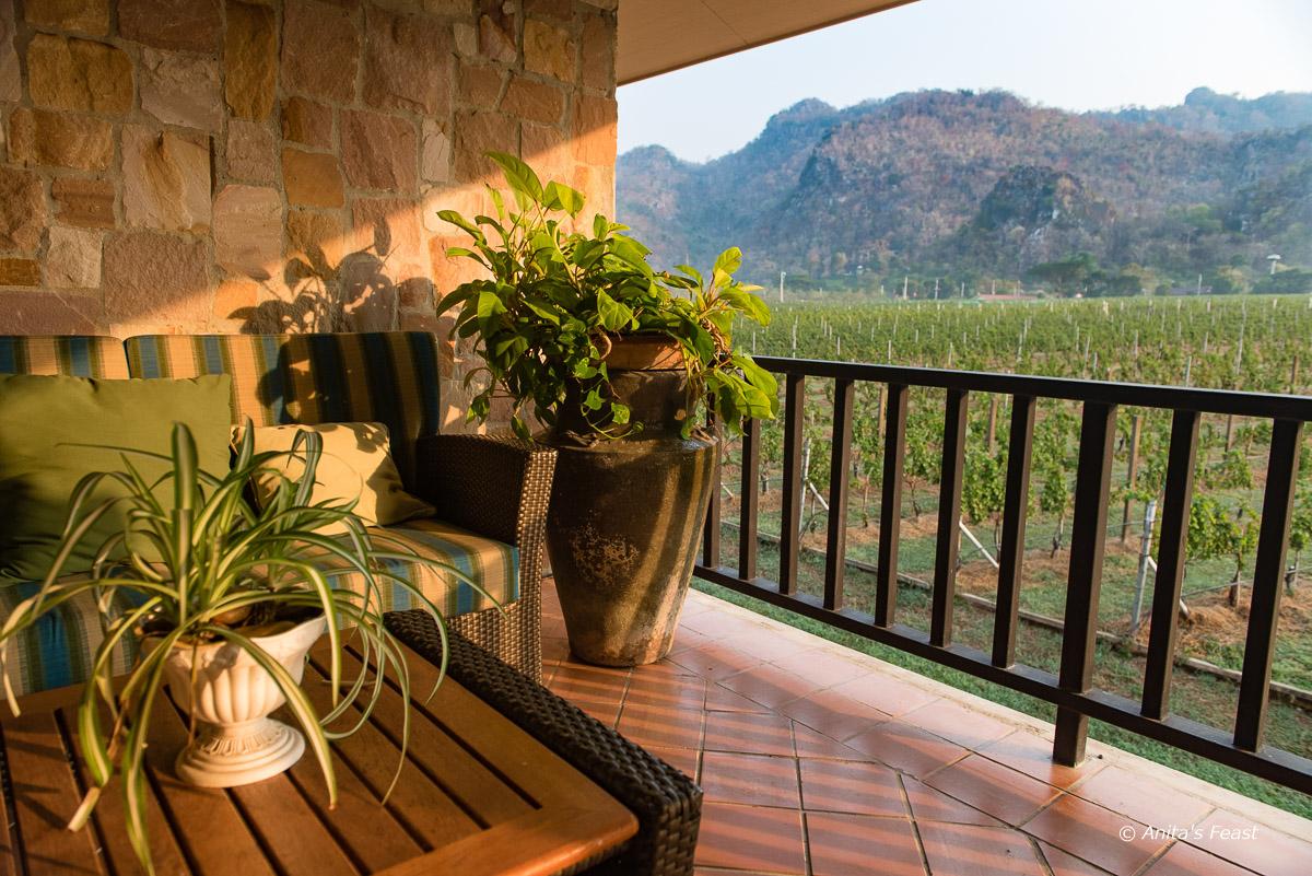 A sunny balcony at Gran Monte