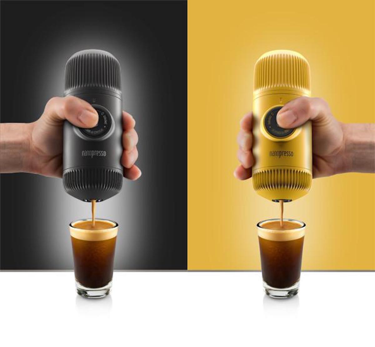 best portable espresso maker: Nanopresso
