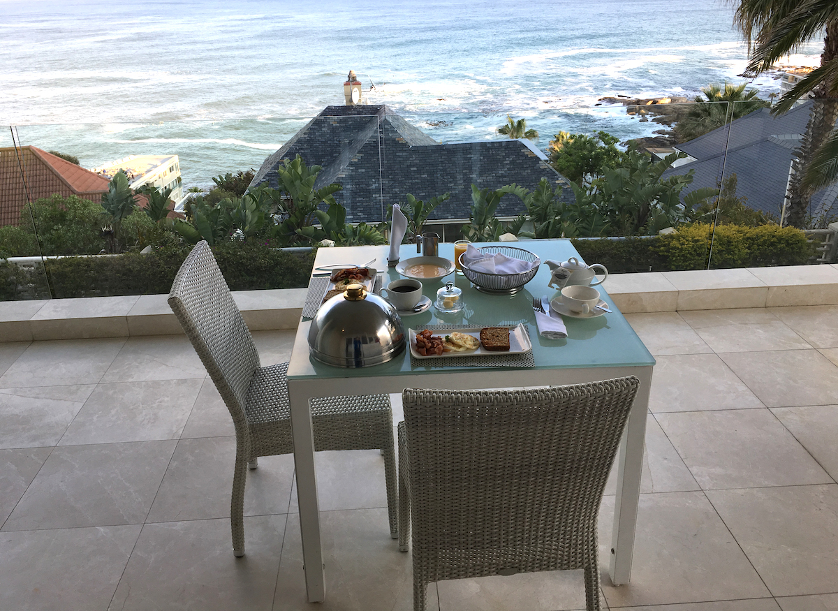 Sunny Getaways: Breakfast on the balcony at Clarendon Bantry Bay