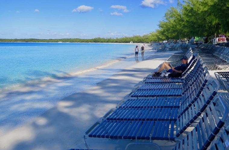 Western Caribbean cruise stop atHalf Moon Cay