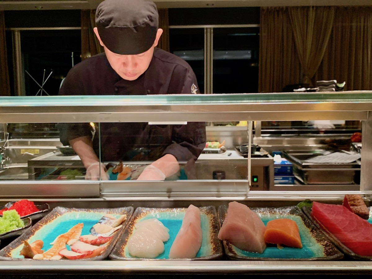 Nami Sushi chef