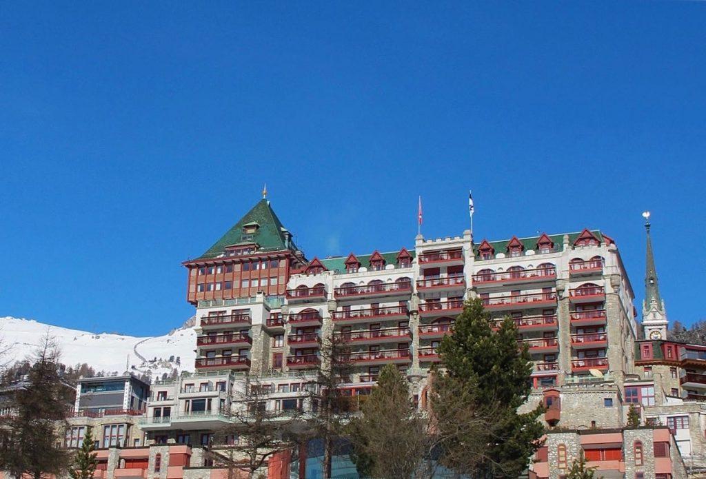 five-star Badrutt's Palace hotel in St. Moritz