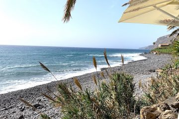 Madeira Beachside lunch at Faja dos Padres