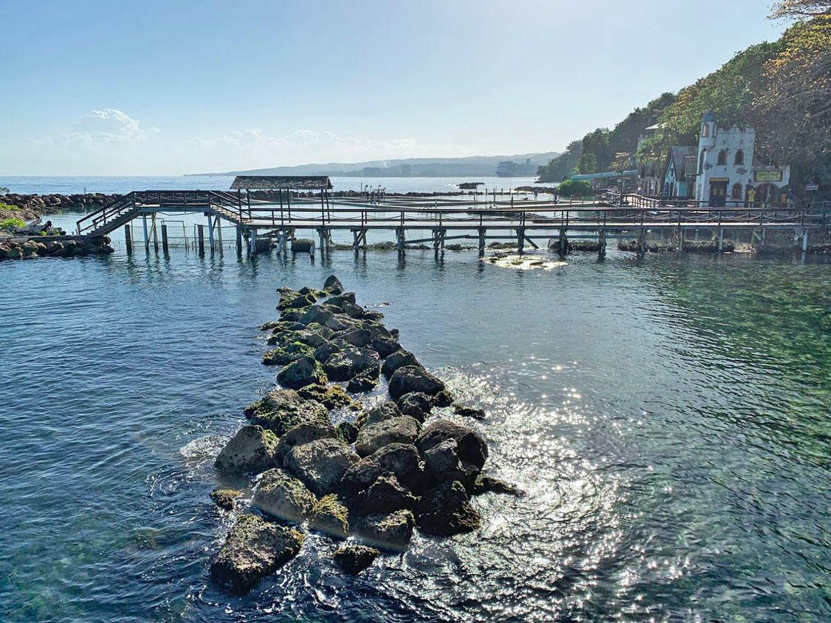 Dolphin Cove in Ochos Rios, Jamaica
