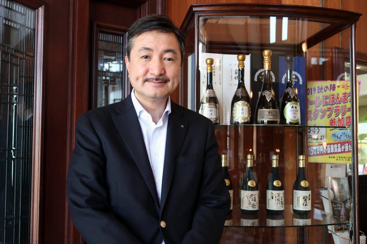 Fukushima Prefecture: Hideharu Ohta of Daishichi Sake Brewery