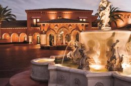Fountain and entrance of the Fairmont Grand Del Mar