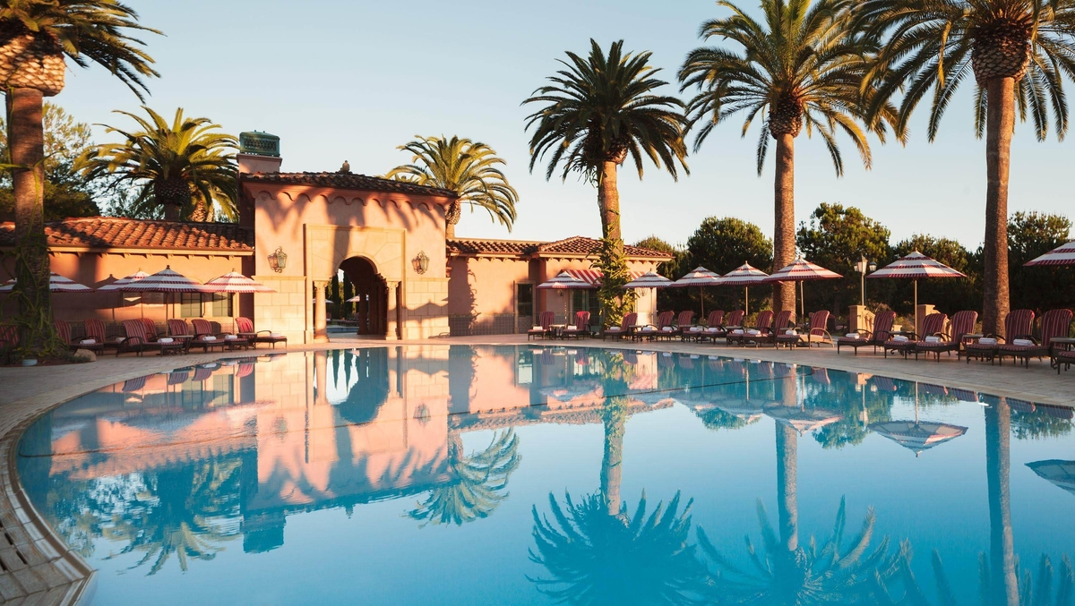 Relaxation pool (Credit: Fairmont Grand Del Mar)