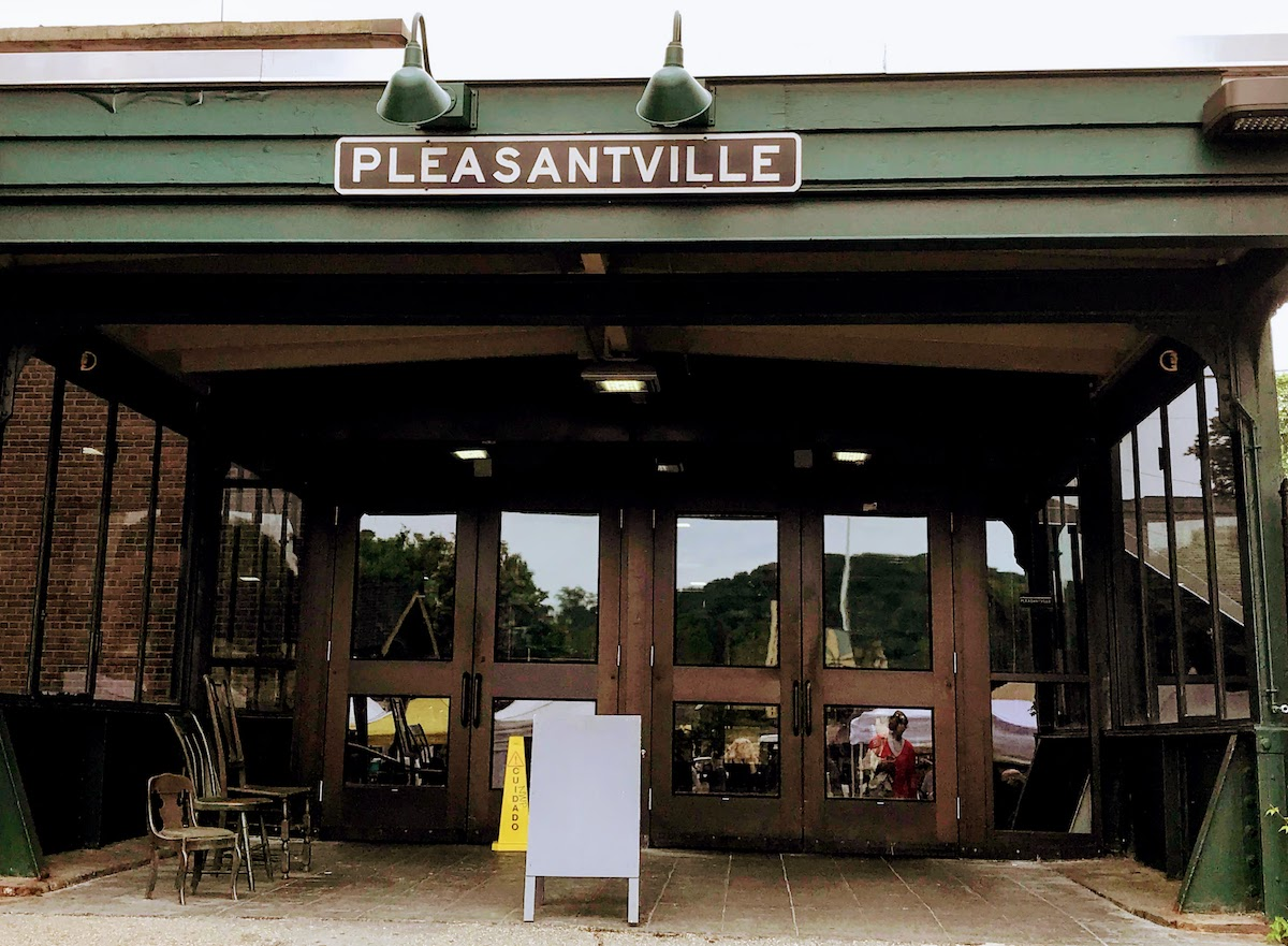 The Pleasantville train station first opened in 1846