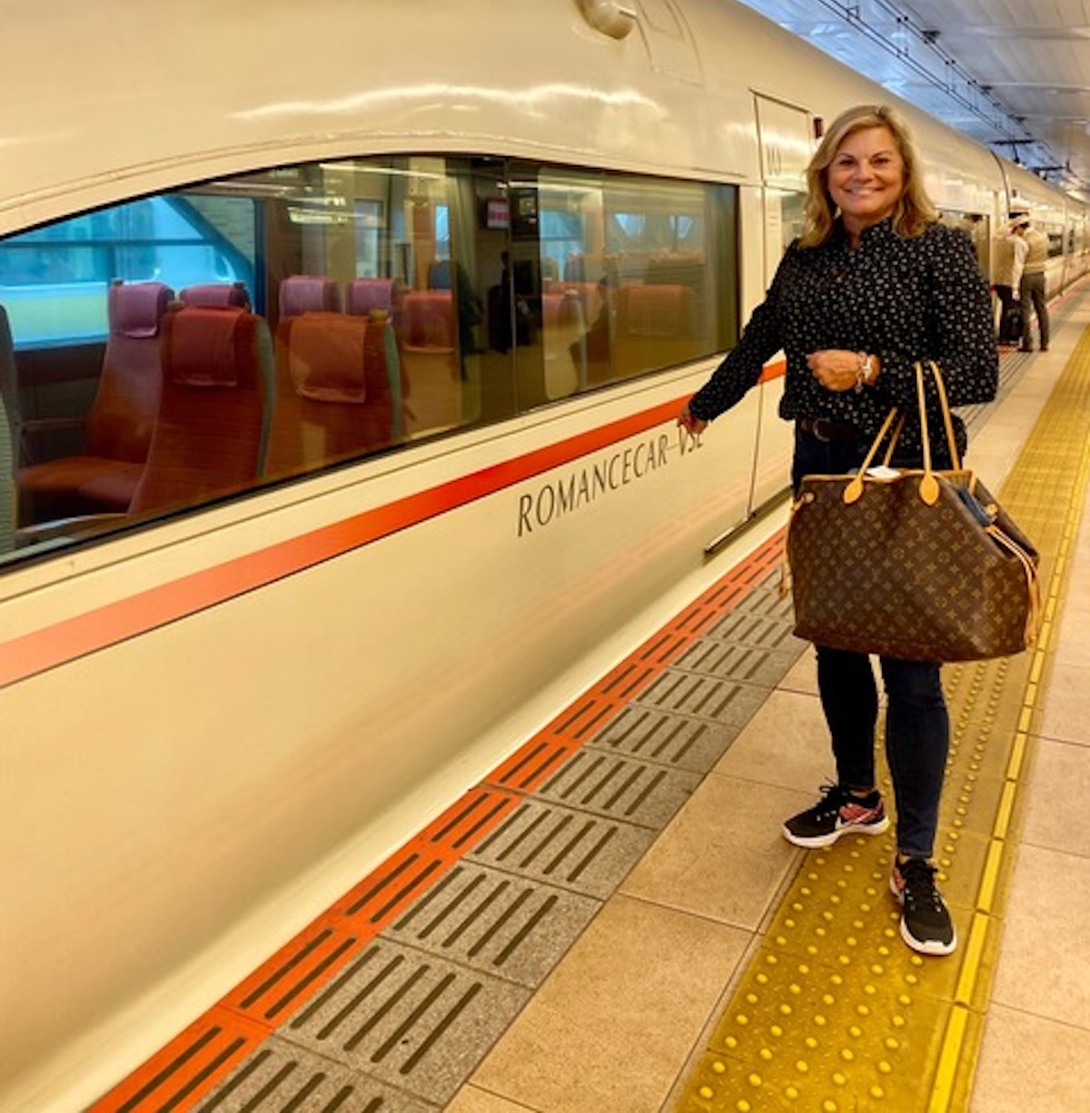 Japan by Train: Boarding the Romance Train