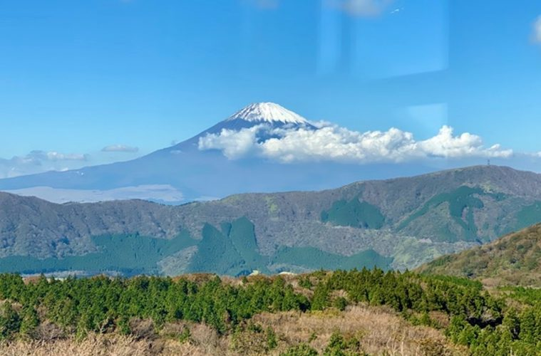 Japan by Train: View of Mt. Fuji