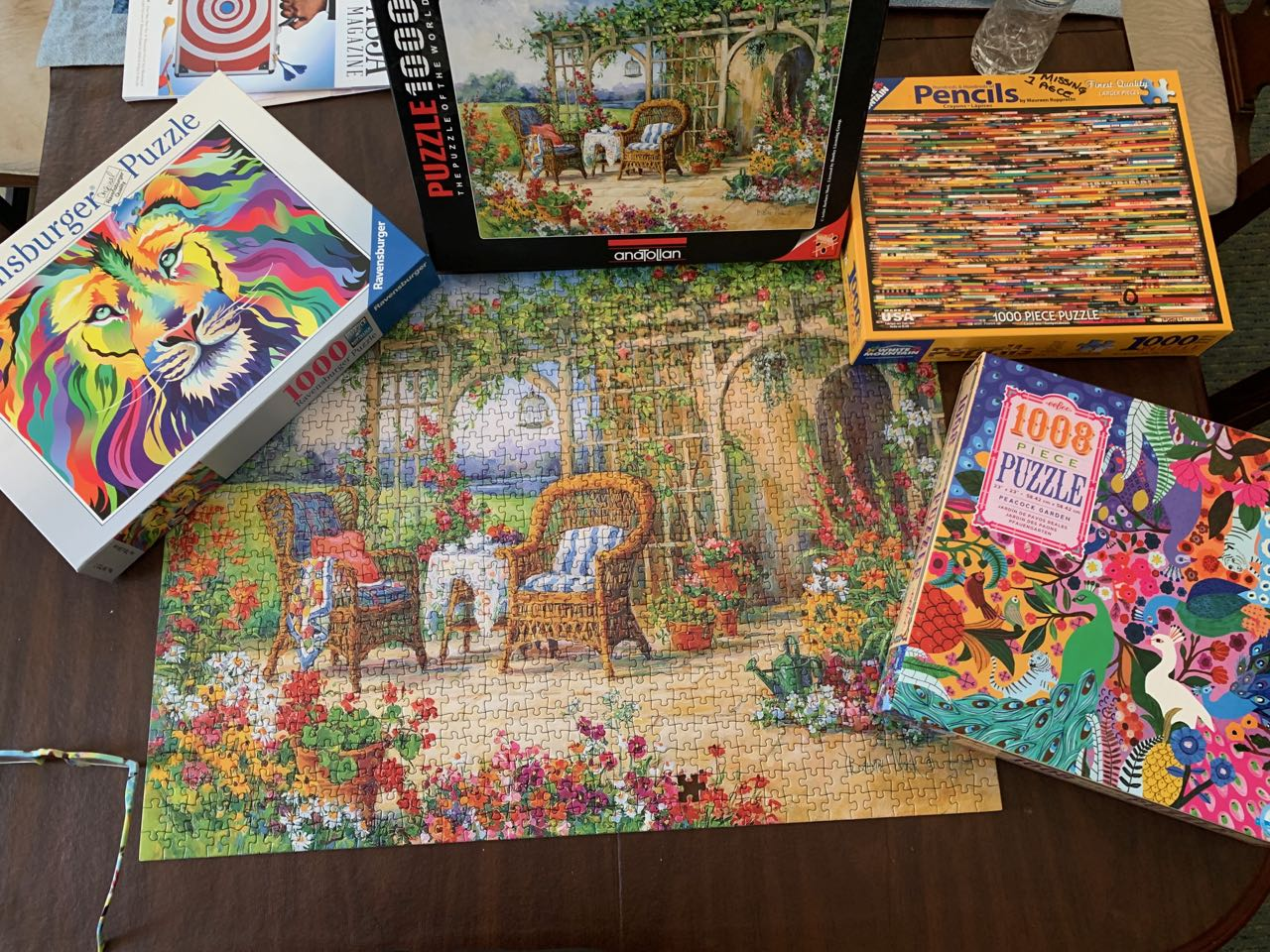 jigsaw puzzles in Midcoast Maine