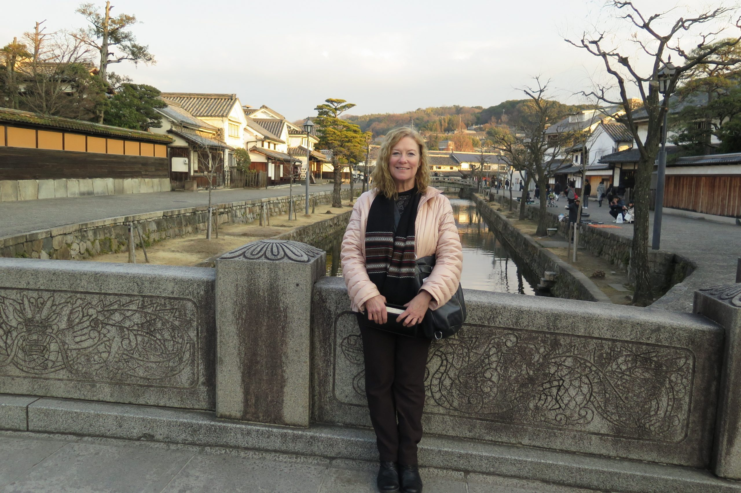 Beth Reibar in Japan, far from her Lawrence, Kansas home